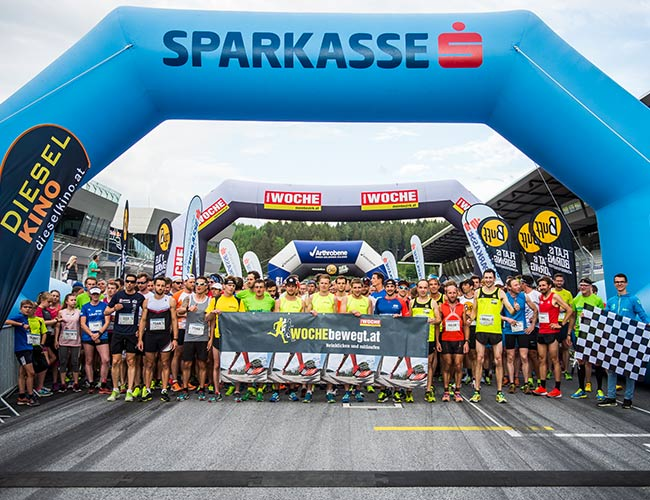 Businesslauf am Red Bull Ring