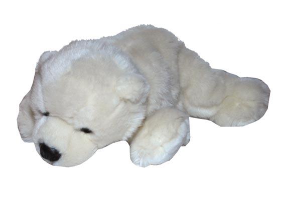Eisbär Plüschtier